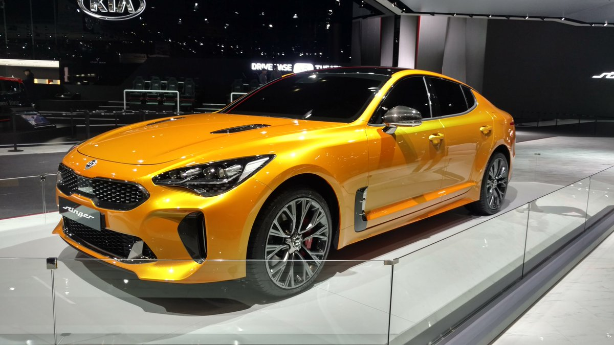Mustang Wagon 2017 >> VWVortex.com - 2018 Kia Stinger officially unveiled (production GT concept) - Range-topping GT ...