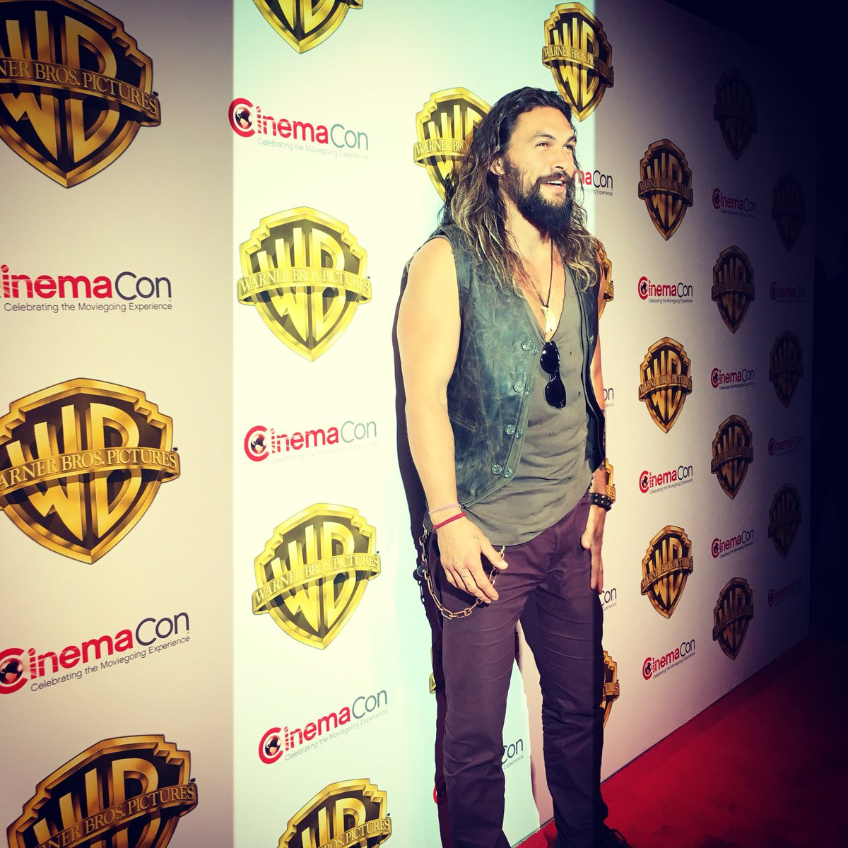 . @prideofgypsies takes a break from the ocean today to attend @Cinema...