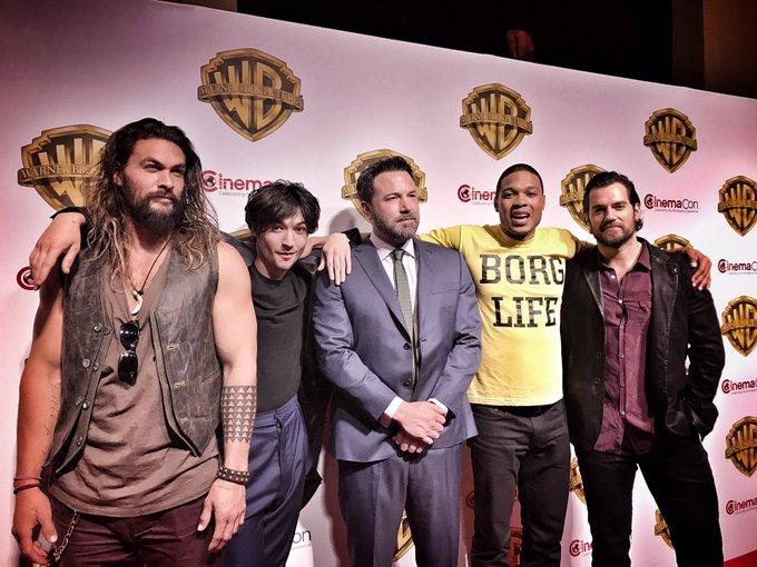 #CinemaCon My Boys https://t.co/V9q9ZbcuCV