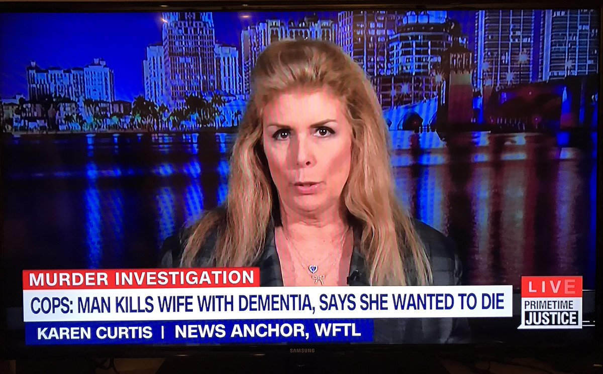 Look who is on #HLN right now! @850WFTL Yay Karen! https://t.co/5shsIwikcG