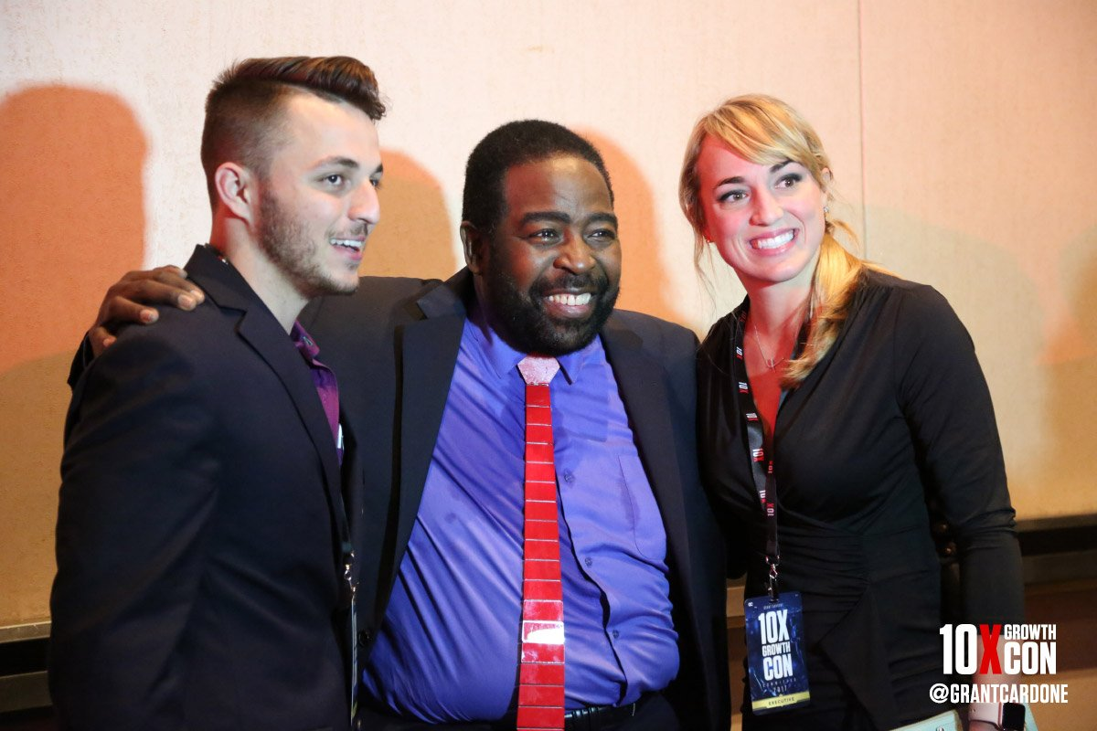 Les Brown was a blessing at the https://t.co/Oi2h0qJXFX - he truly ins...