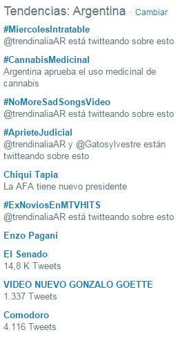 #AprieteJudicial es tendencia en Argentina ¡Gracias por sumarte al deb...