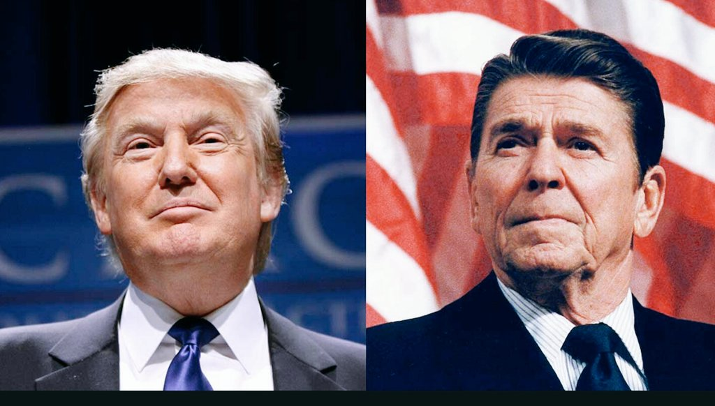 I&#39;ve said that Trump is the next Reagan. I may have been wrong. The incredible way he is starting, he may actually be greater. #MAGA <br>http://pic.twitter.com/qH28GpFBz7