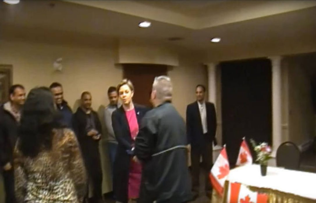 Video shows Kellie Leitch at meeting with controversial critics of Isl...