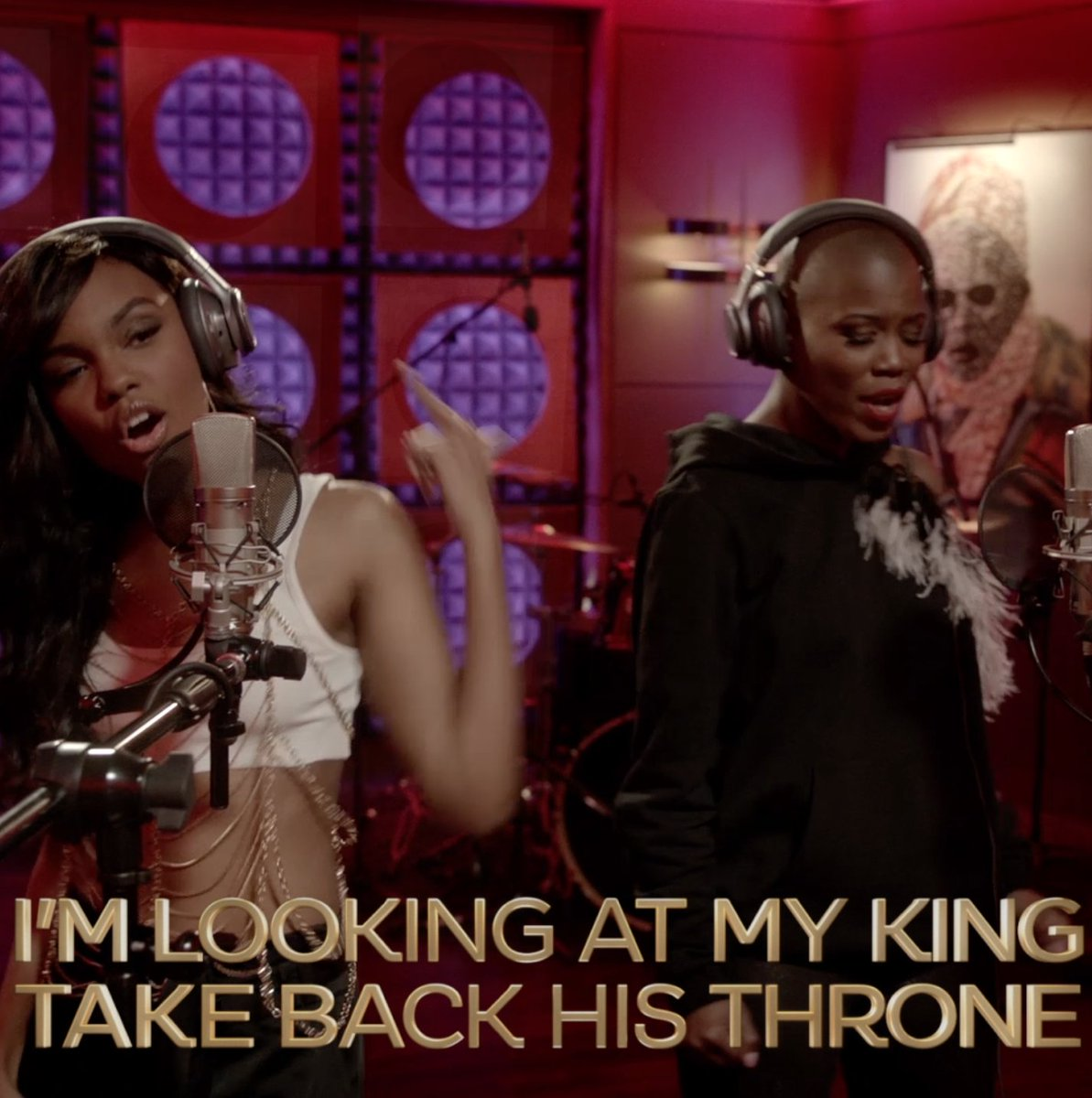 The king is back! 👑 Listen to 'Throne' now: https://t.co/h3A39b5NCA #E...