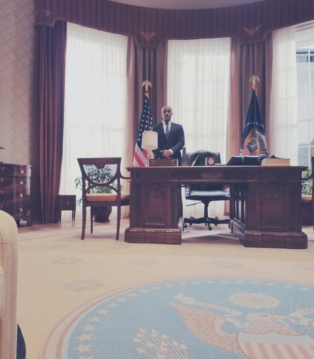 East Coast, RT if you'll be joining us in the Oval Office this evening #DesignatedSurvivor