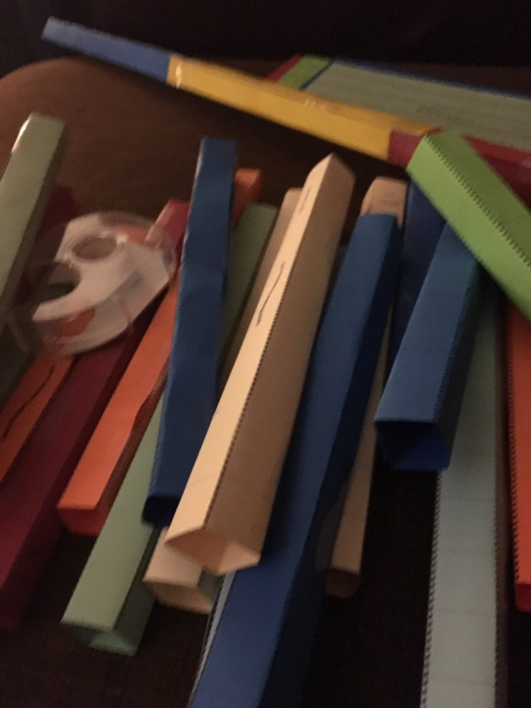 @TheWeirdTeacher I may or may not be folding parts for a paper roller coaster #weirded https://t.co/13qzVr2nZf