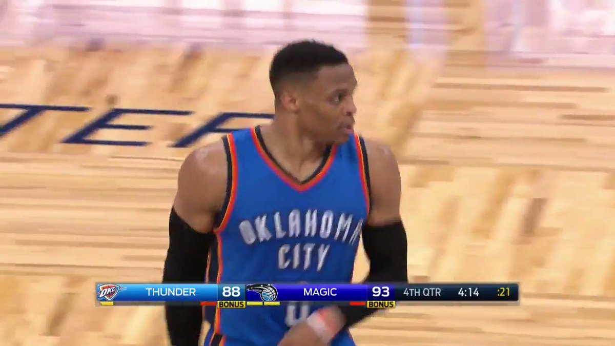 Russell Westbrook messed around and set an NBA record for points in a...