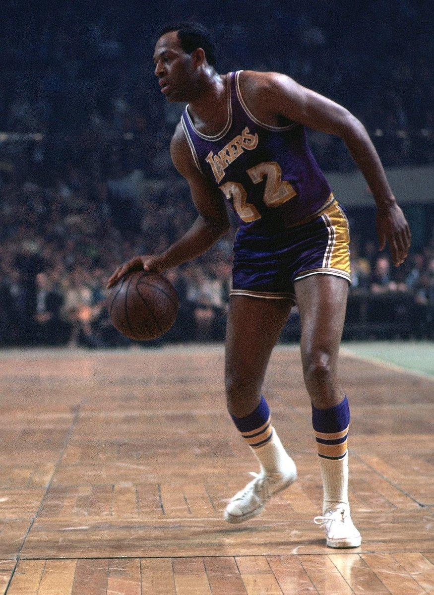 """NBA History on Twitter """"50 Point Triple Doubles Elgin Baylor"""