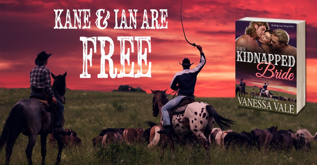THEIR KIDNAPPED BRIDE- One cowboy is never enough. #FREE #menage #cowboy Kobo:  https:// store.kobobooks.com/en-us/ebook/th eir-kidnapped-bride-1 &nbsp; … <br>http://pic.twitter.com/qnHVn1qj4D