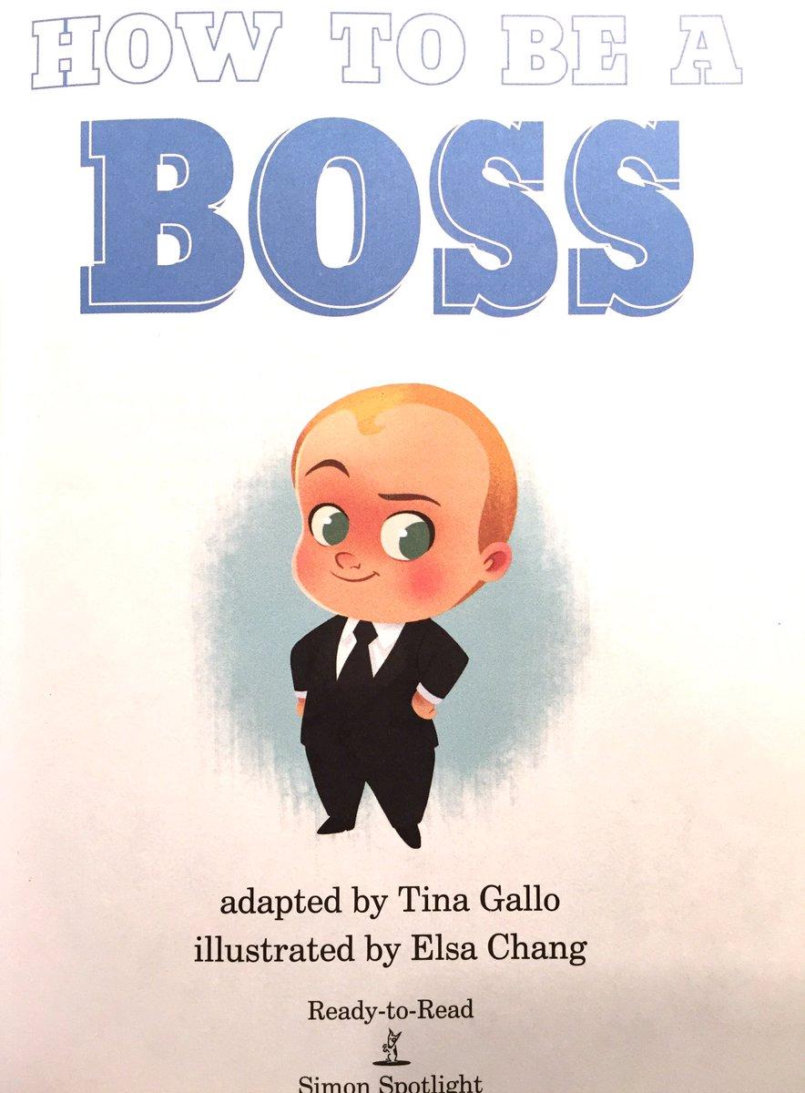 Boss Baby Book