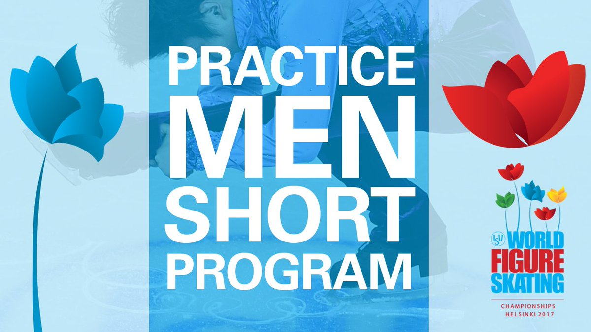 🌍⛸🏅#WorldFigure  🖥 Live Stream - Men Short Program Practice - #Helsink...