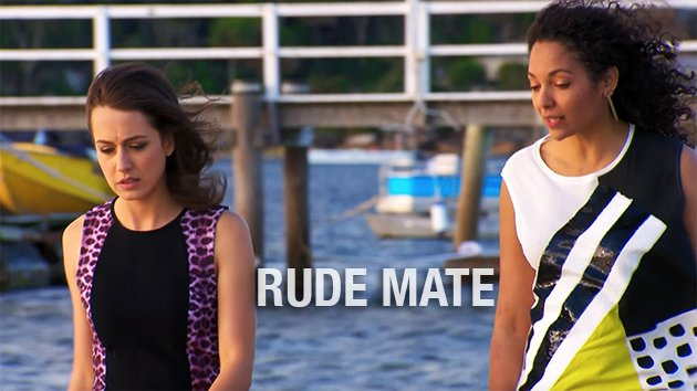 Phoebe&#39;s old mate is a rude mate!  WATCH:  https:// bit.ly/RudeMate  &nbsp;   #HomeandAway <br>http://pic.twitter.com/eW9YZuPJkq