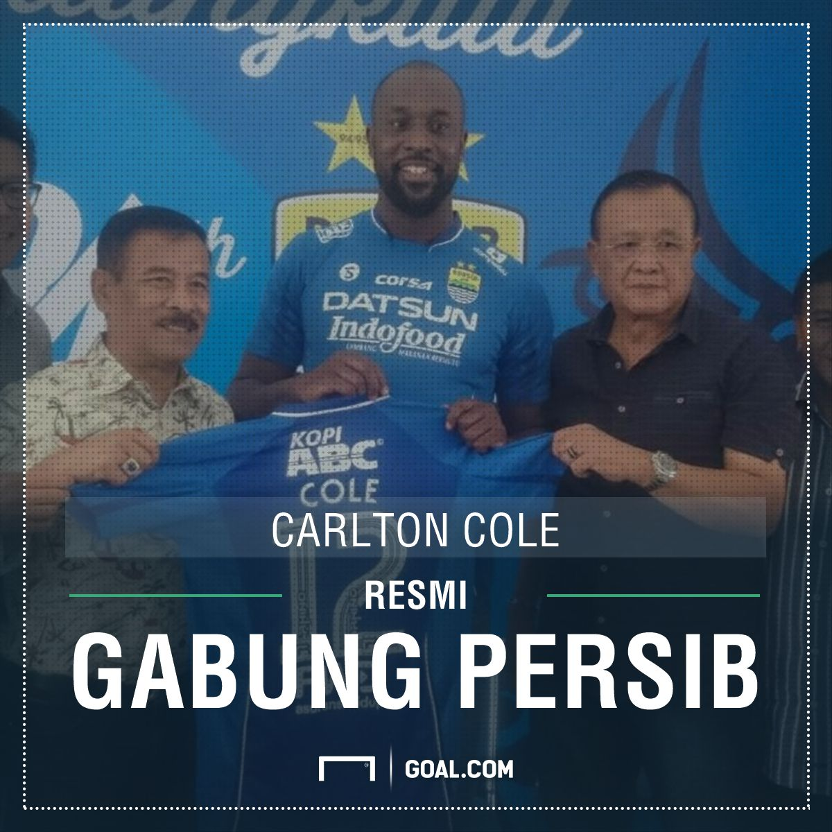 RESMI: Carlton Cole Merapat Ke Persib Bandung - https://t.co/VS4IgkmEj...