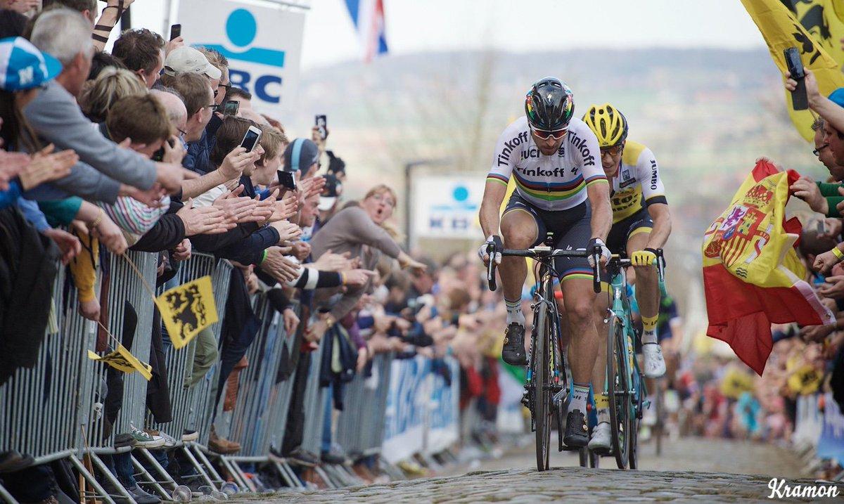 test Twitter Media - Sagan? Van Avermaet? Gilbert? Who's your pick for the Tour of Flanders on Sunday? https://t.co/f1HtGB2Knl #RVV https://t.co/oKffwS3kJY