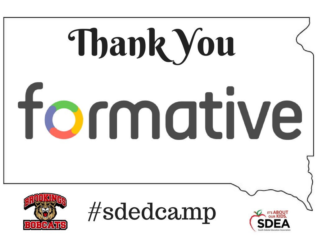 We could not be more excited for #edcamp Thanks @goformative @TellAbou...