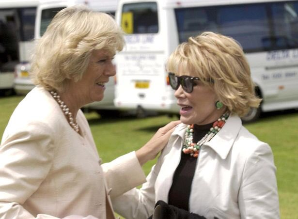 3. Yes, Joan Rivers was friends with Prince Charles and Camilla. She w...