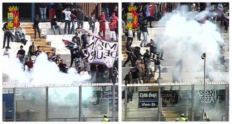 Lanciano petardo che ferisce steward: denunciati quattro ultras del Catania (VIDEO) - https://t.co/DTDLr76lAt #blogsicilianotizie