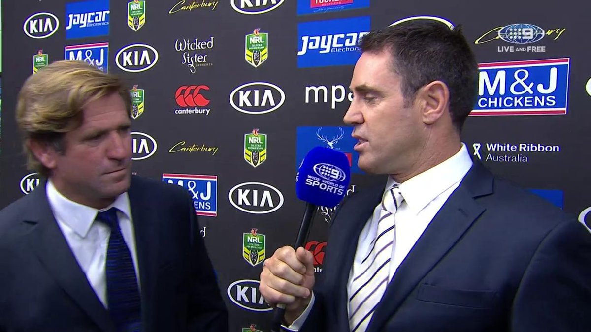 Freddy catches up with coach Des Hasler ahead of tonight's #NRLBulldog...