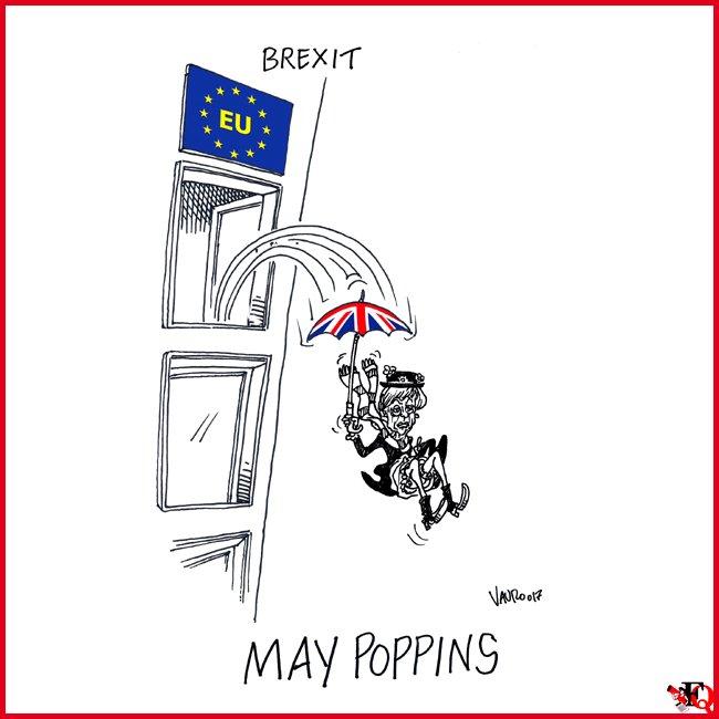 #BREXIT — La mia nuova vignetta oggi in edicola @fattoquotidiano #30ma...