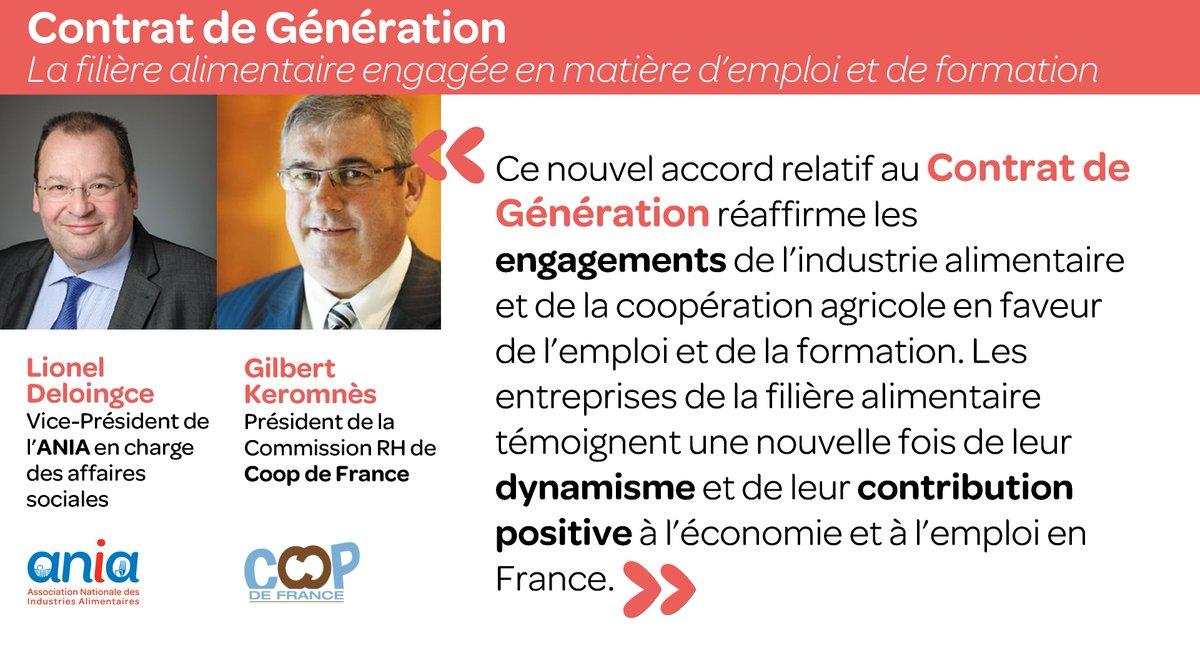 [#Emploi #Formation] Contrat de Génération, en savoir plus sur le nouvel accord de la filière alimentaire :  http://www. ania.net/affaires-socia les/accord-contratdegeneration &nbsp; … <br>http://pic.twitter.com/CFGbZf6TSF