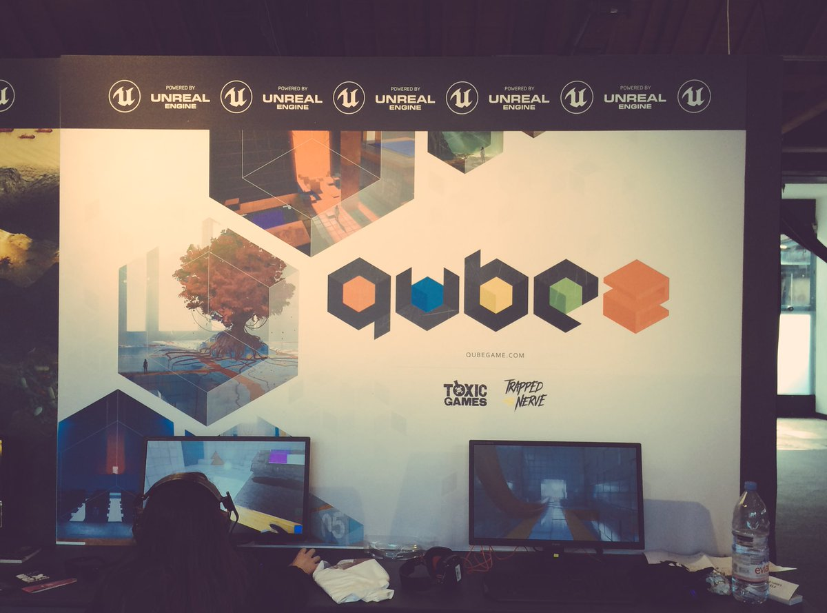 All set up @EGX. Come see in the @UnrealEngine Zone #EGXRezzed #indieg...