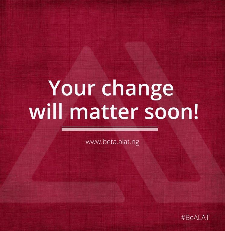 Your 'change' will matter soon. https://t.co/qGBYRtaVPd #BeALAT #KeepT...