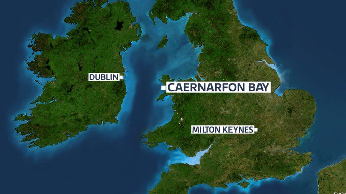 Search for missing helicopter carrying five people shifts to Snowdonia...
