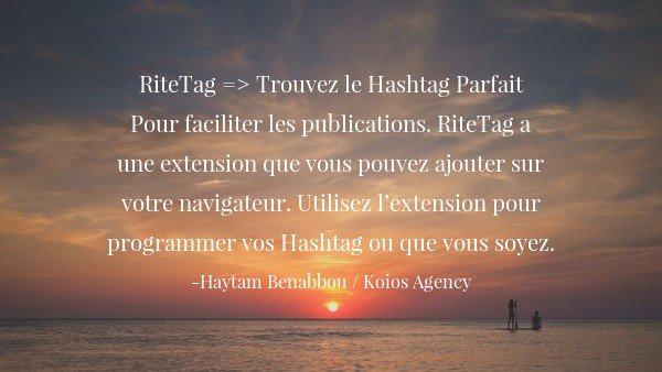 3 #Outils gratuits pour traquer les hashtags sur les réseaux sociaux (avec #RiteTag) ~@KoiosAgency #smm #marketing #tools<br>http://pic.twitter.com/leDhvPGxqq