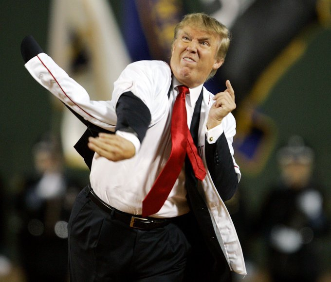 Remember: @realDonaldTrump is nuts and hates this 2006 photo. DON'T retweet. My latest #TheResistanceGQ Vol. 53: https://t.co/rEEnXyY4yW