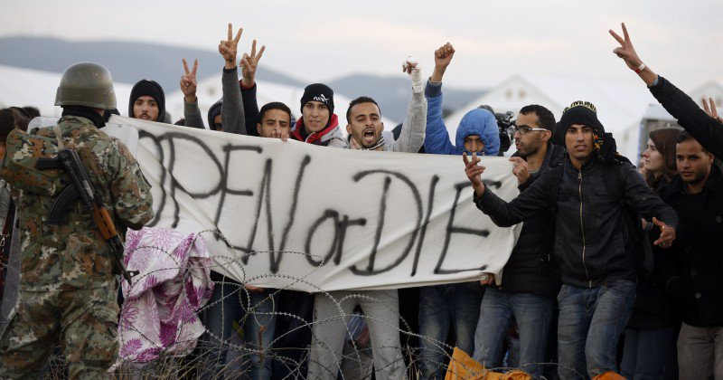 They DO NOT flee the War! They ARE the War! #islam #refugees #jihad #svpol #police  #MAGA #tcot #TGDN #eupol #svfm<br>http://pic.twitter.com/qiMi1VGbS8