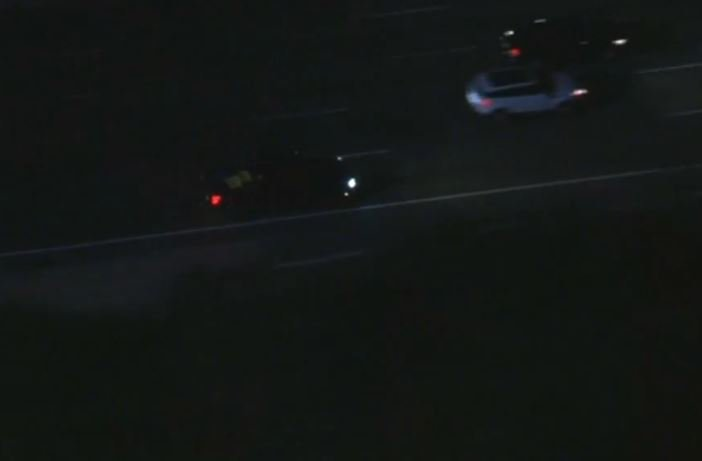 UPDATE: Driver in #pursuit might have carjacked pickup that police are...
