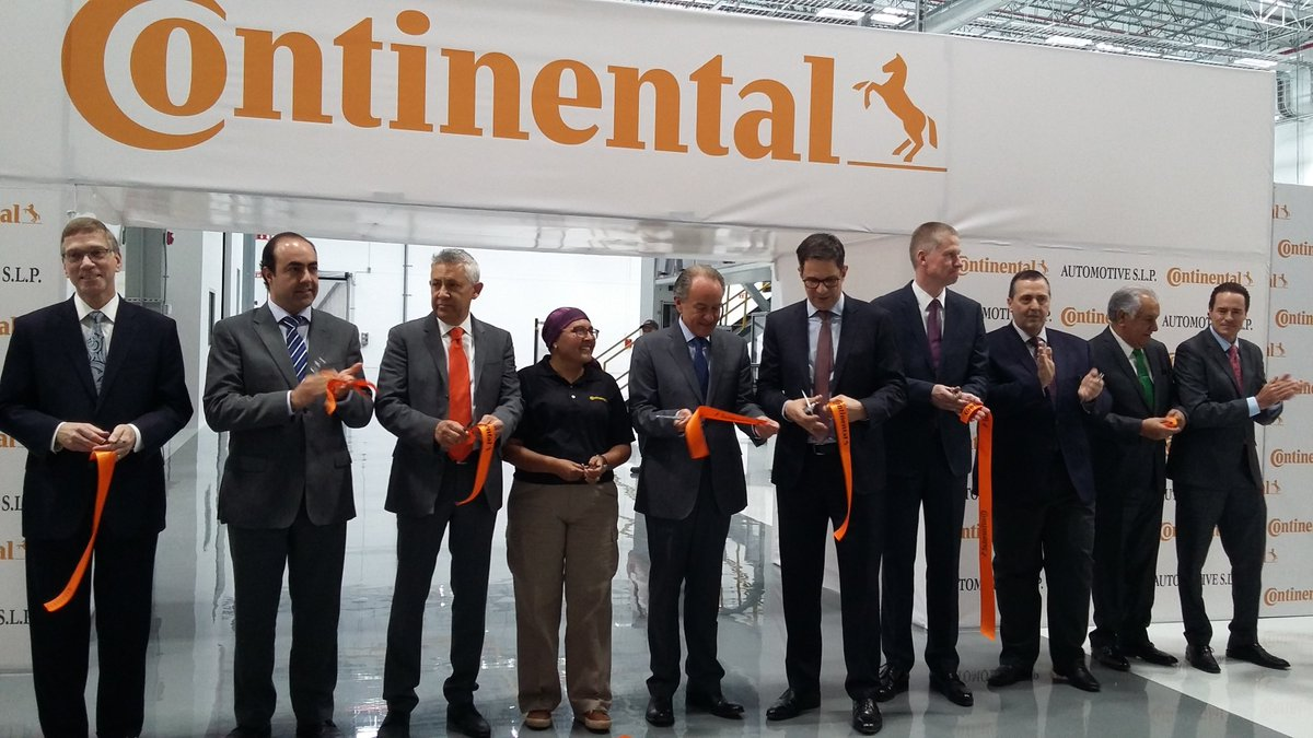 Continental opens US$ 167 million brake, turbo chargers plant in San Luis Potosi:  http:// bit.ly/2ni24mO  &nbsp;    #FelizJueves #SupplyChain<br>http://pic.twitter.com/X2t2NCMilE