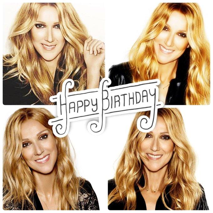 Happy Birthday, Celine Dion!!