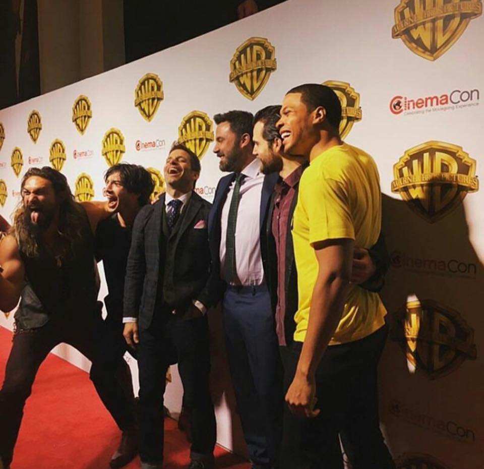 All Boys Night? #JusticeLeage at #CinemaCon https://t.co/6YYeXXchKb