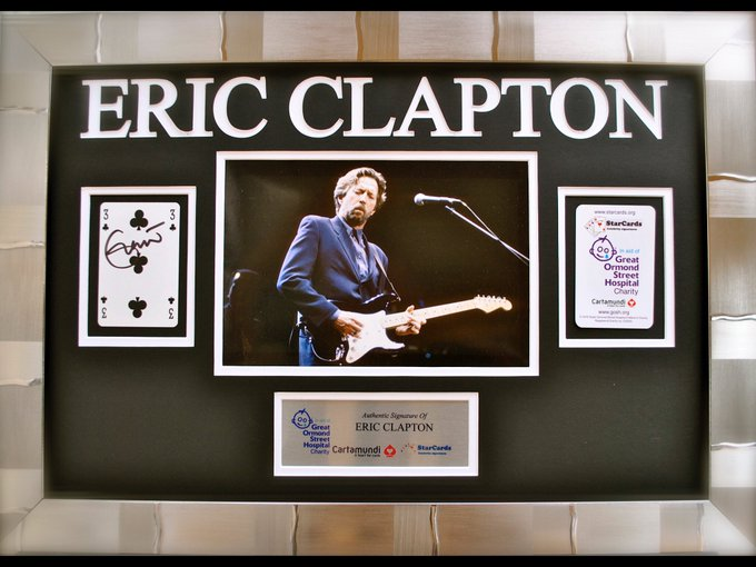 Happy birthday to StarCards supporter Eric Clapton