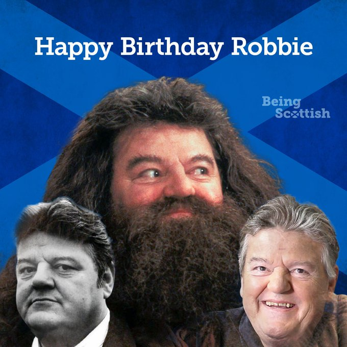 Happy birthday to Rutherglen-born actor Robbie Coltrane who is 67 today