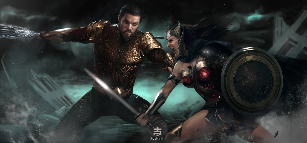 Flashpoint aquaman and wonder woman #dccomics #flashpoint #flashpointp...