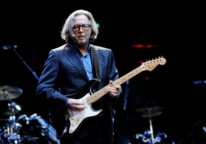 Happy birthday to Eric Clapton, born on 30th March 1945,  guitarist, singer, songwriter