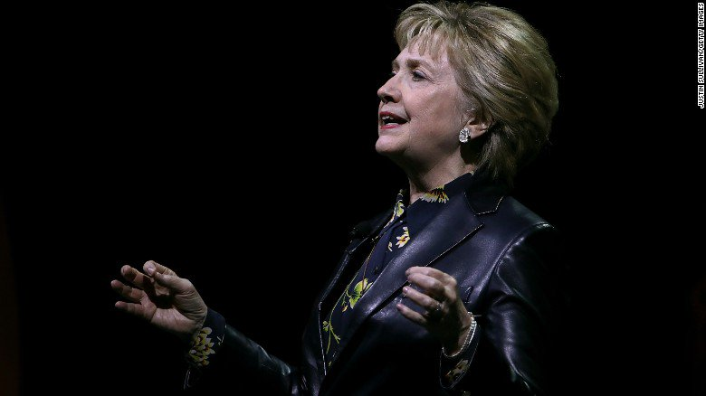 Hillary Clinton's back in the spotlight, but decidedly not on the camp...