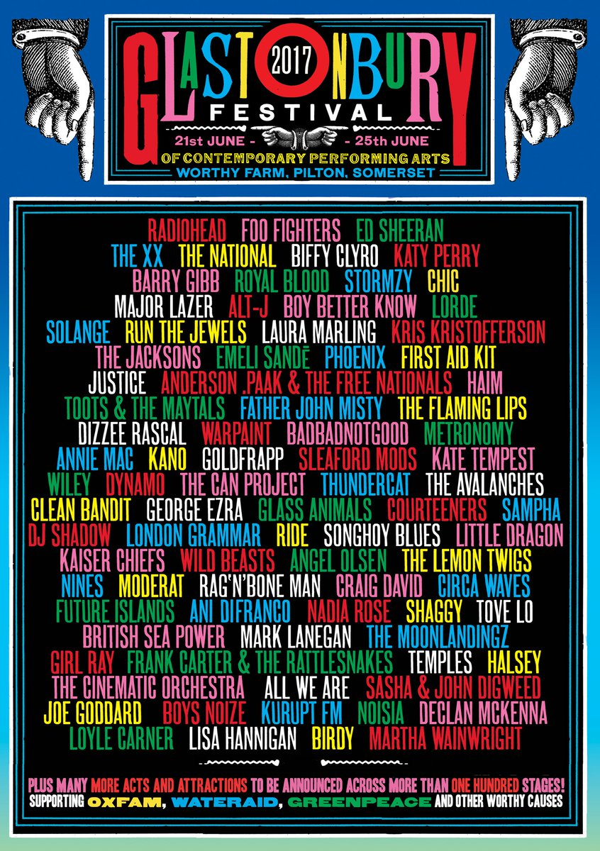 Glastonbury 2017!