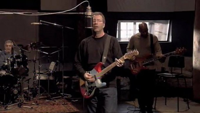 Happy birthday mr. Slowhand!!!  Eric Clapton - Sweet home Chicago