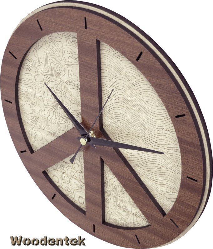 Handmade #Peace clock in wood #HandMade #ticktock #Motivacion   -  https://www. amazon.com/dp/B01MTPLV57  &nbsp;   -  https://www. etsy.com/listing/473241 568/peace-clock-in-wood-silent-movement?ref=shop_home_active_21 &nbsp; … <br>http://pic.twitter.com/K4zyg9PdBe