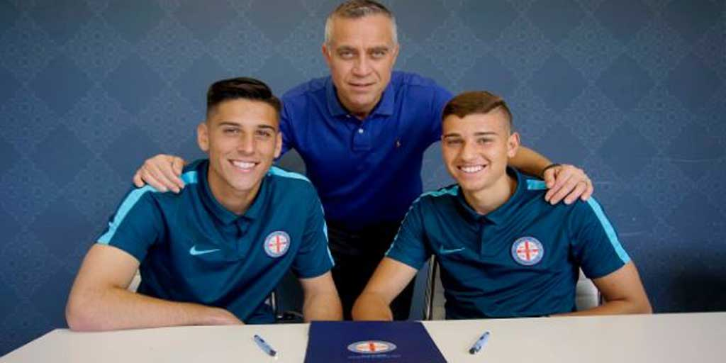 Signing news: @MelbourneCity secures talented tennagers - https://t.co...