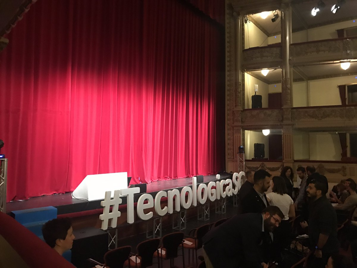A punto de #TecnologicaSC https://t.co/GFAcPHZZKw