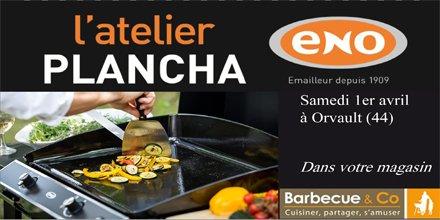 Atelier @planchaeno  #MadeInFrance samedi 1er avril chez @BBQandCo  #Nantes : cours de cuisine avec un vrai chef!  http:// ow.ly/SqTJ30adBDG  &nbsp;  <br>http://pic.twitter.com/2bzLz6nlHB