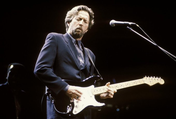 Here\s wishing the legend, Eric Clapton a very happy birthday!