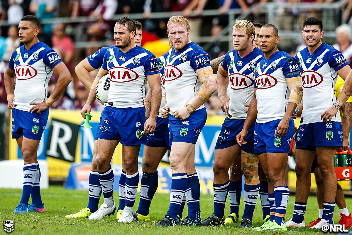The @NRL_Bulldogs have lost seven of their past eight games.  #NRLBull...