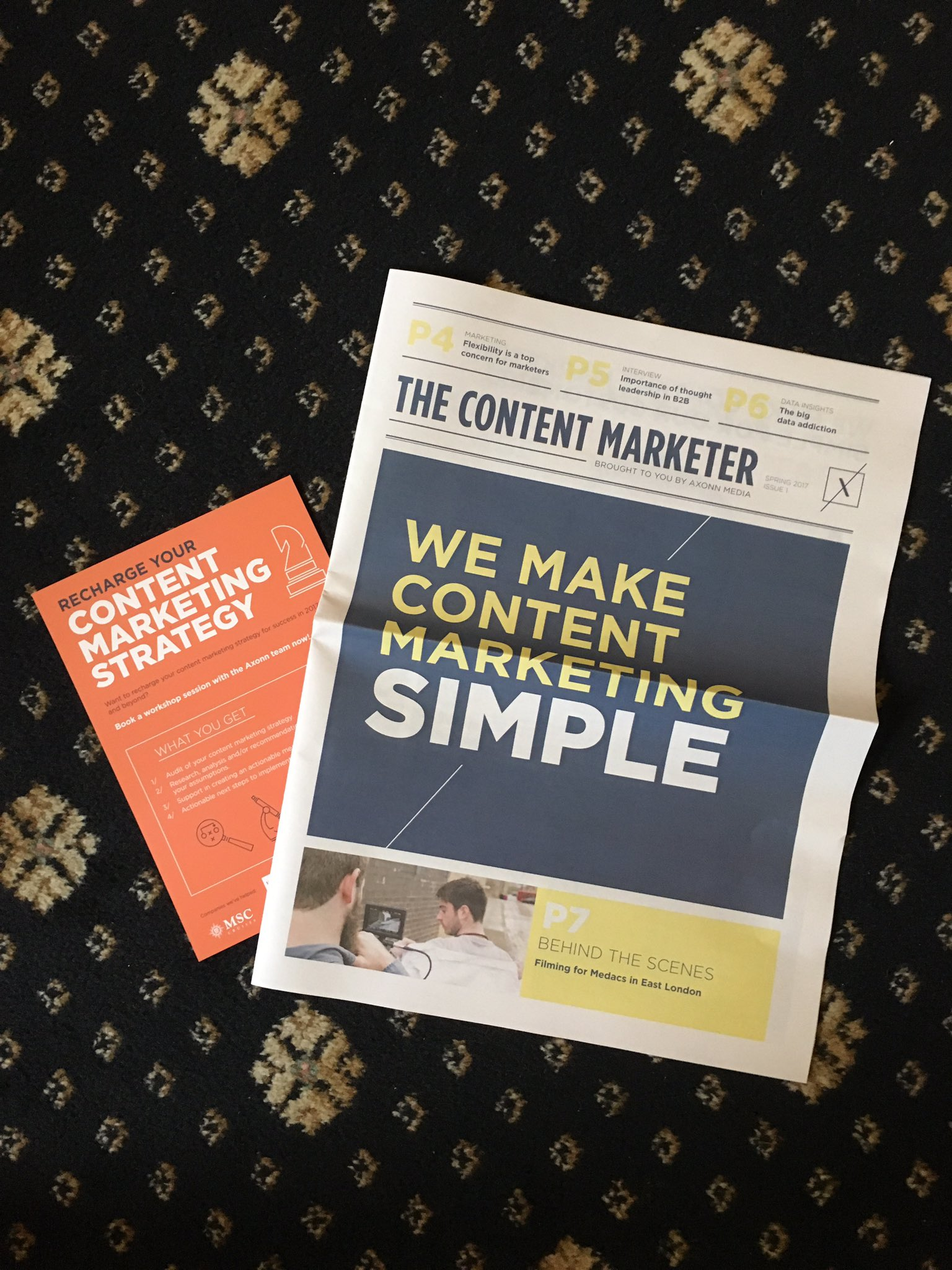 Extra! Extra! Read all about it- @AxonnMedia is making #contentmarketing simple! https://t.co/8FjVUDd4ww