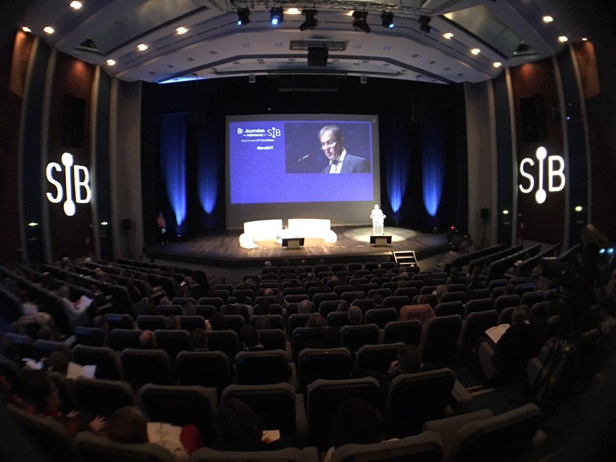 Daniel Gillaizeau, Président du SIB &quot; l&#39; #éthique, une des valeurs fortes du @sibsante &quot; #jousib17<br>http://pic.twitter.com/YhSwg4UDuT